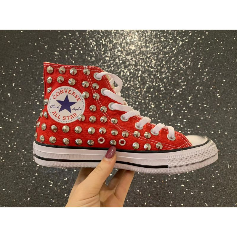 All star rossa custom borchie