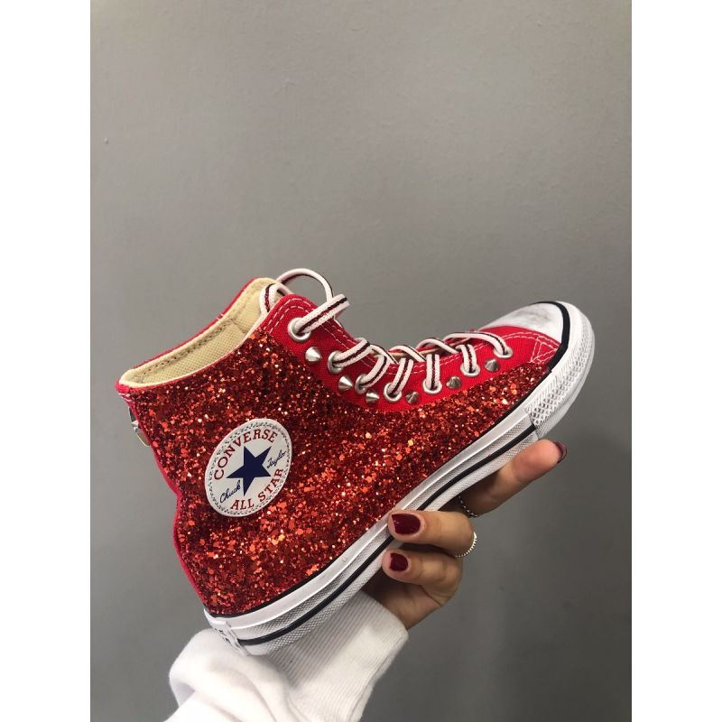 All star glitter e borchie junior